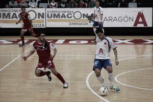 Santiago Futsal - D-Link Zaragoza: los maños quieren estropear el debut en casa de los gallegos