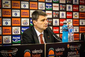 """Perasovic: """"Valencia Basket no es un equipo temeroso, es un equipo valiente"""