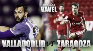 Real Valladolid - Real Zaragoza: encontrar la regularidad