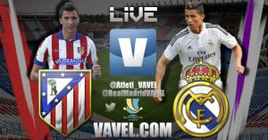 Atlético de Madrid vs Real Madrid en vivo y online en la Supercopa de España 2014