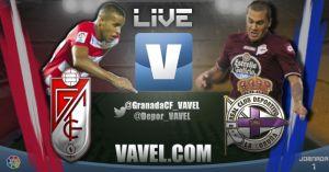 Granada vs Deportivo de la Coruña en directo y en vivo online