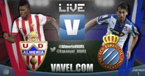 Almería vs Espanyol, así lo vivimos
