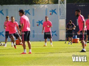 Entrenamiento sin Neymar en la Ciudad Deportiva