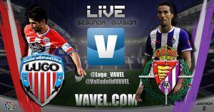 Lugo - Real Valladolid en directo online