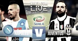 Resumen Napoli vs Juventus en vivo online en Serie A 2017 (1-1)