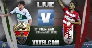 Elche vs Granada en vivo y en directo online