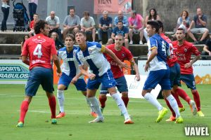 Espanyol B - UE Olot: olotenses por el muro