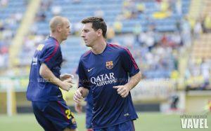 Sobrecarga para Messi y contusión para Munir