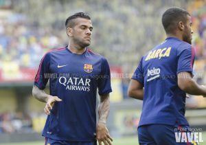 Alves no jugará ante el Athletic por unas molestias en la rodilla