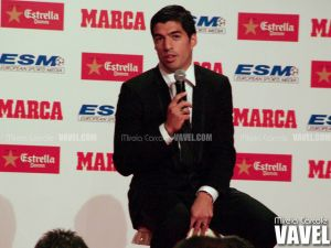 """Luis Suárez: """"Los goles me dejan tranquilo"""""""