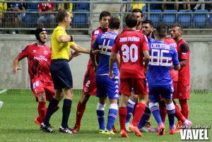 Fotos e imágenes del Sevilla 0-2 Sampdoria, semifinal del trofeo Carranza