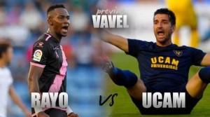 Previa Rayo Vallecano- UCAM Murcia: un encuentro con urgencia de puntos