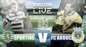 Sporting CP vence de manera clara al FC Arouca en el regreso de Adrien