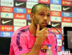 """Mascherano: """"Sabemos que el Barça necesita estar en cuartos"""""""