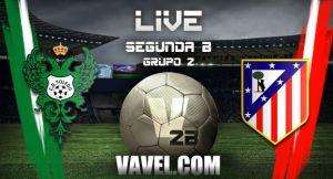 Toledo vs Atlético de Madrid B en directo online