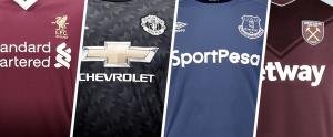 Las nuevas camisetas de la Premier League