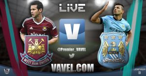 West Ham v Manchester City Live Stream Commentary and EPL Scores 2014