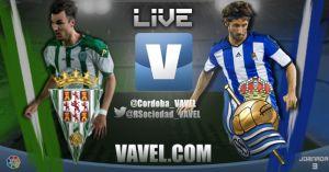 Resultado partido Córdoba vs Real Sociedad en vivo y en directo online