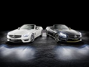 Mercedes-Benz SL63 AMG World Championship 2014: Lewis, Nico, va por vosotros