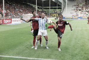 Un gol de Cop da la victoria al Málaga