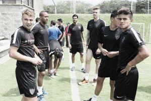 Primer entrenamiento en tierras colombianas
