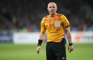 Szymon Marciniak, ecargado de dirigir el Shakhtar Donetsk-Sevilla FC