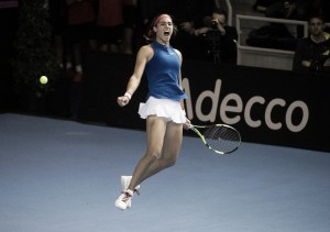 Fed Cup: Caroline Garcia comes up with another stunning win to give France the lead