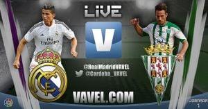 Resultado Real Madrid - Córdoba en la Liga BBVA 2015 (2-0)