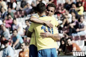 Fran Machado anota el gol de la Jornada 10 de Segunda División B