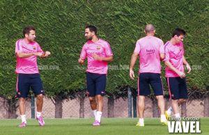 Luis Enrique contará con Messi, Iniesta y Mathieu ante el Athletic