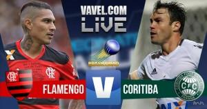Gols do jogo Flamengo 2-2 Coritiba em Campeonato Brasileiro 2016
