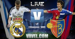 Live Real Madrid vs Basilea, diretta Champions League