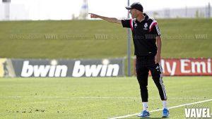 """Zidane: """"Quiero seguir en el Castilla este año, luego ya veremos"""""""