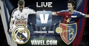 Live Champions League : le match Real Madrid vs FC Bâle en direct