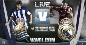Liga BBVA: Real Sociedad vs Real Madrid en vivo y directo online