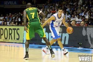 Fotos e imágenes del Grecia 87 - 64 Senegal, 1ª jornada Grupo B del Mundial de Baloncesto