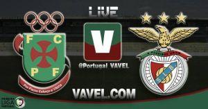 Paços de Ferreira vs Benfica en vivo y en directo online (1-0)