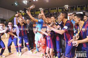 El Barça, campeón de la Copa Catalunya ante un gran Marfil