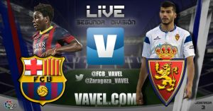 Barcelona B - Real Zaragoza en directo online