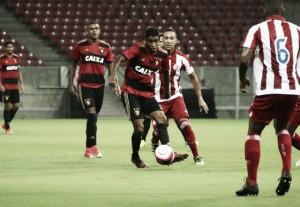 """Gabriel destaca falta de produção do Sport contra Náutico: """"Temos que trabalhar mais"""""""