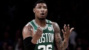 Marcus Smart se ve en los Boston Celtics la próxima temporada