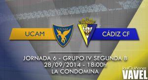 UCAM Murcia - Cádiz CF: ilusión ante necesidad