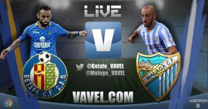 Getafe vs Málaga en vivo y en directo online