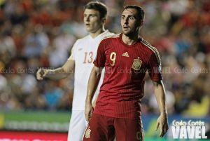 """Alcácer: """"Quiero seguir muchos años en el Valencia"""""""