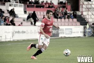 Gerard Valentín, el mejor ante el RCD Mallorca