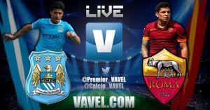 Live Manchester City vs Roma, diretta Champions League