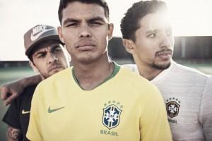Inspirada em 58 e 70, Seleção Brasileira lança camisas para a Copa 2018