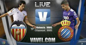 Resultado Valencia vs Espanyol de la Liga BBVA 2014(3-1)