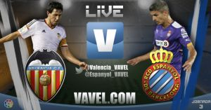Resultado Valencia - Espanyol de la Liga BBVA 2014(3-1)