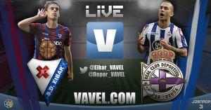 Eibar vs Deportivo de la Coruña en vivo y en directo online